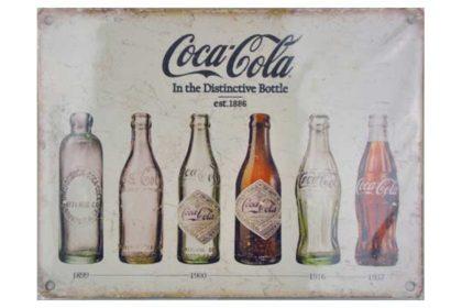Blechschild COCA-COLA, 20 x 15 cm