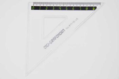 DIGI-GRAFONORM No. 817/16/45, 9cm, transparent
