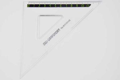 DIGI-GRAFONORM No. 817/21/45, 11cm, transparent