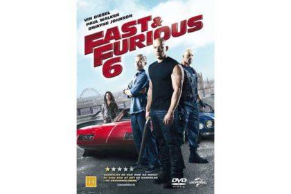 DVD - Fast & Furious 6