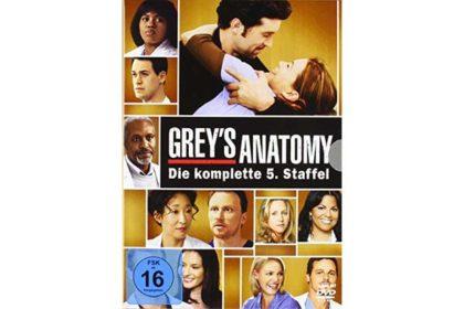 DVD - Grey's Anatomy - Die komplette fünfte Staffel