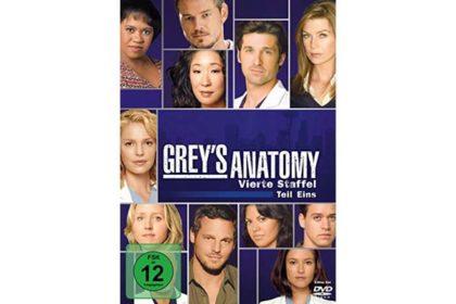 DVD - Grey's Anatomy - Vierte Staffel Teil 1