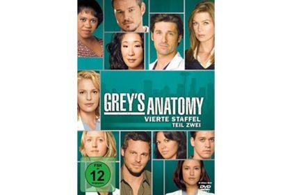 DVD - Grey's Anatomy - Vierte Staffel Teil 2