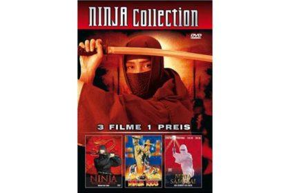 DVD - Ninja Collection - Ninja Bloodfighter, Ninja Kids, Ninja Samurai