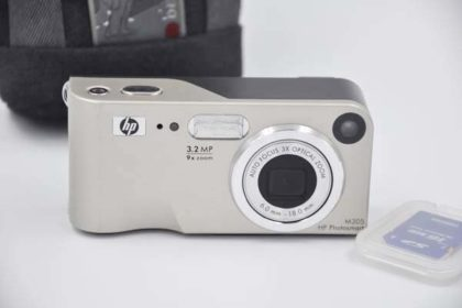 HP Photosmart M305, goldig