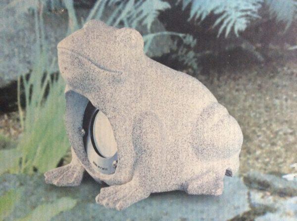 Garten-Frosch mit Beleuchtung