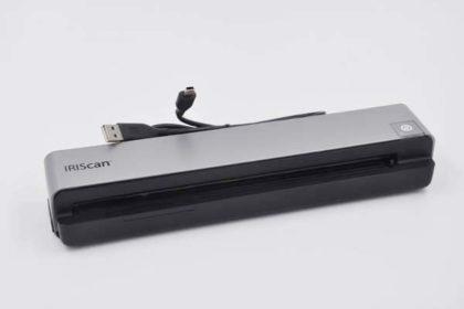 IRIScan Portabler Scanner A4, silber-schwarz