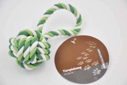 JES COLLECTION Hunde-Spielzeug zum Werfen, 7-19cm, grün-weiss