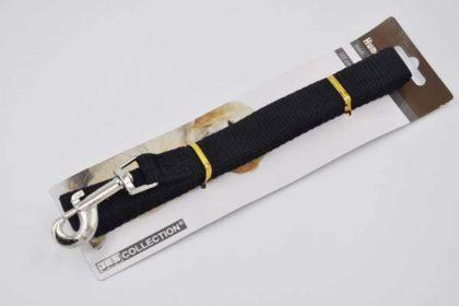JES COLLECTION Hunde-Leine 165cm, schwarz