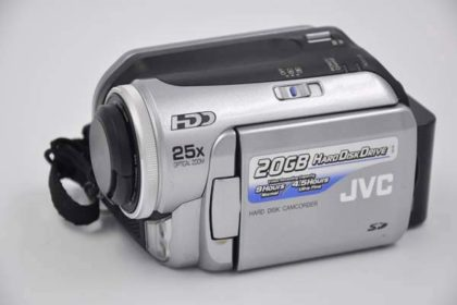 JVC Hard-Disk-Camcorder Everio 20GB, GZ-MG20E, silber