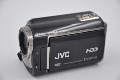 JVC Hard-Disk-Camcorder Everio 30GB, GZ-MG435BE, schwarz