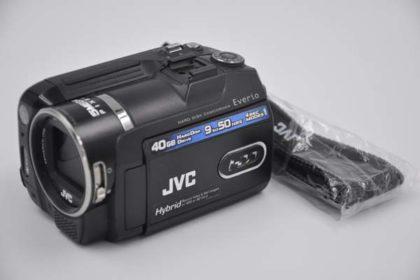 JVC Hard-Disk-Camcorder Everio 40GB, GZ-MG575E, schwarz
