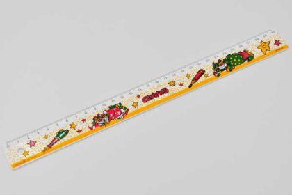 Lineal 30cm mit Clowns-Sujets