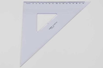 LINEX D4528 Geo-Dreieck, 18cm, transparent