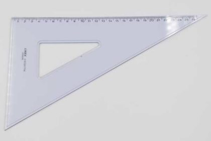 LINEX D6028 Geo-Dreieck, 26cm, transparent