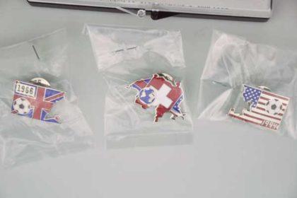 Puzzle-Pin-Set WorldCup - Limitierte Ausgabe