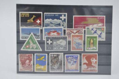 Schweizer Briefmarken - Militär Set 1