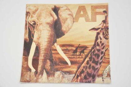 Serviette 3-lagig 33x33 cm, Afrika