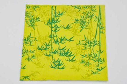 Serviette 3-lagig 33x33 cm, mit Bambus