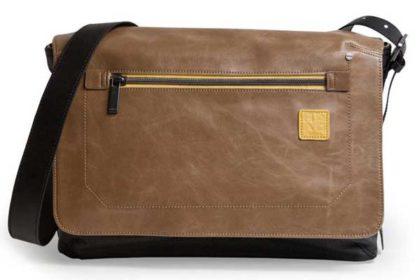 """Golla Neil - Die perfekte Ledertasche für den Alltag. Sie bietet Platz für Ihr MacBook 13.3"""" und vieles mehr, schwarz-braun"""