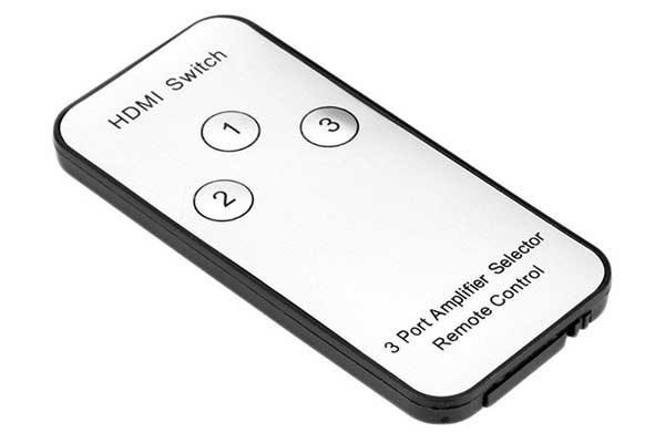 5-fach 1080P Video HDMI-Switch inkl. Fernbedienung