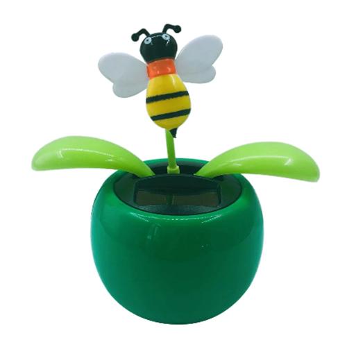 Solar-Tanzen-Biene-Lustige-Geschenk-gruen