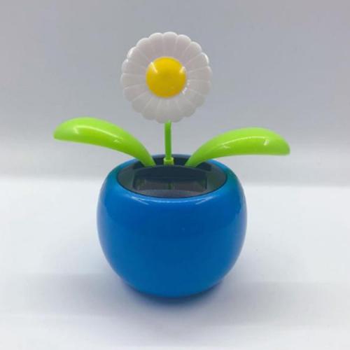 Solar-Tanzen-Blume-Lustige-Geschenk-blau