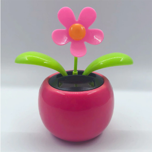 Solar-Tanzen-Blume-Lustige-Geschenk-pink