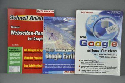 3 x Bücher Google und Webseiten-Ranking